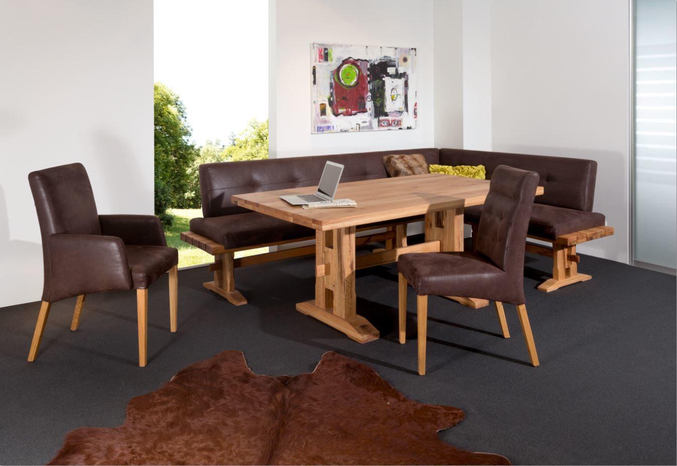 Trop Möbelabholmarkt GmbH, Räume, Küche, Tische, Eckbankgruppe,  Eckbankgruppe, In Sumpfeiche Massiv