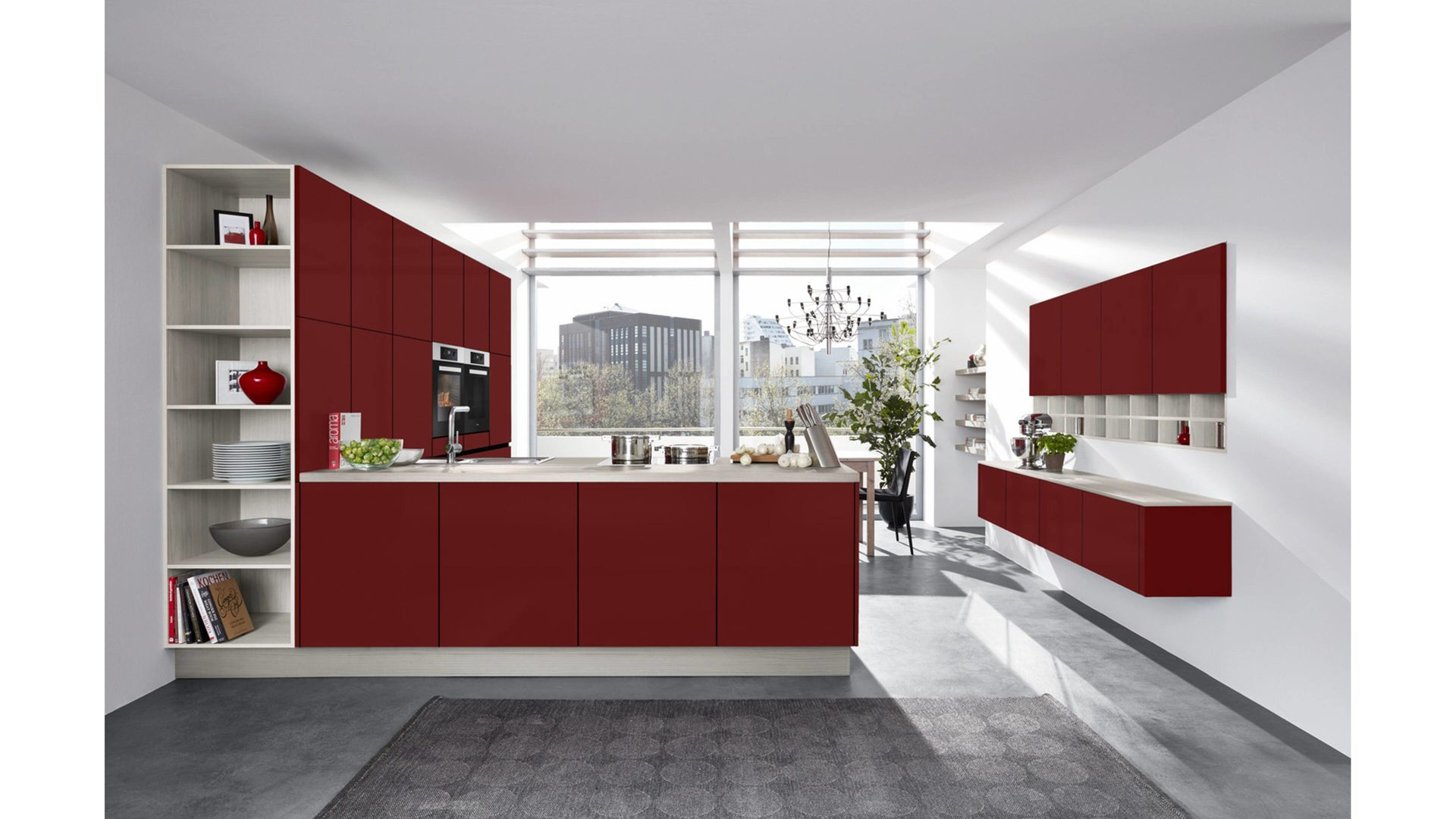 Groß Zwei Töne Küchenschrank Farben Bilder - Ideen Für Die Küche ...