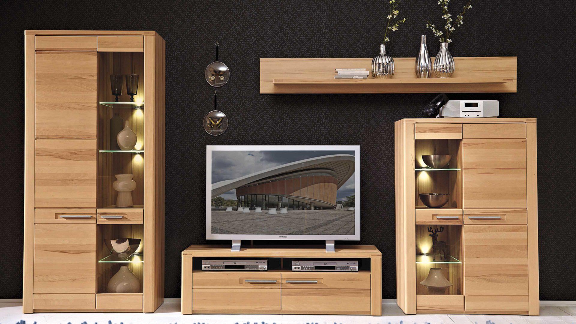 Fesselnd Affordable Details Wohnwand Mit Als With Wohnwand Mit Led Beleuchtung