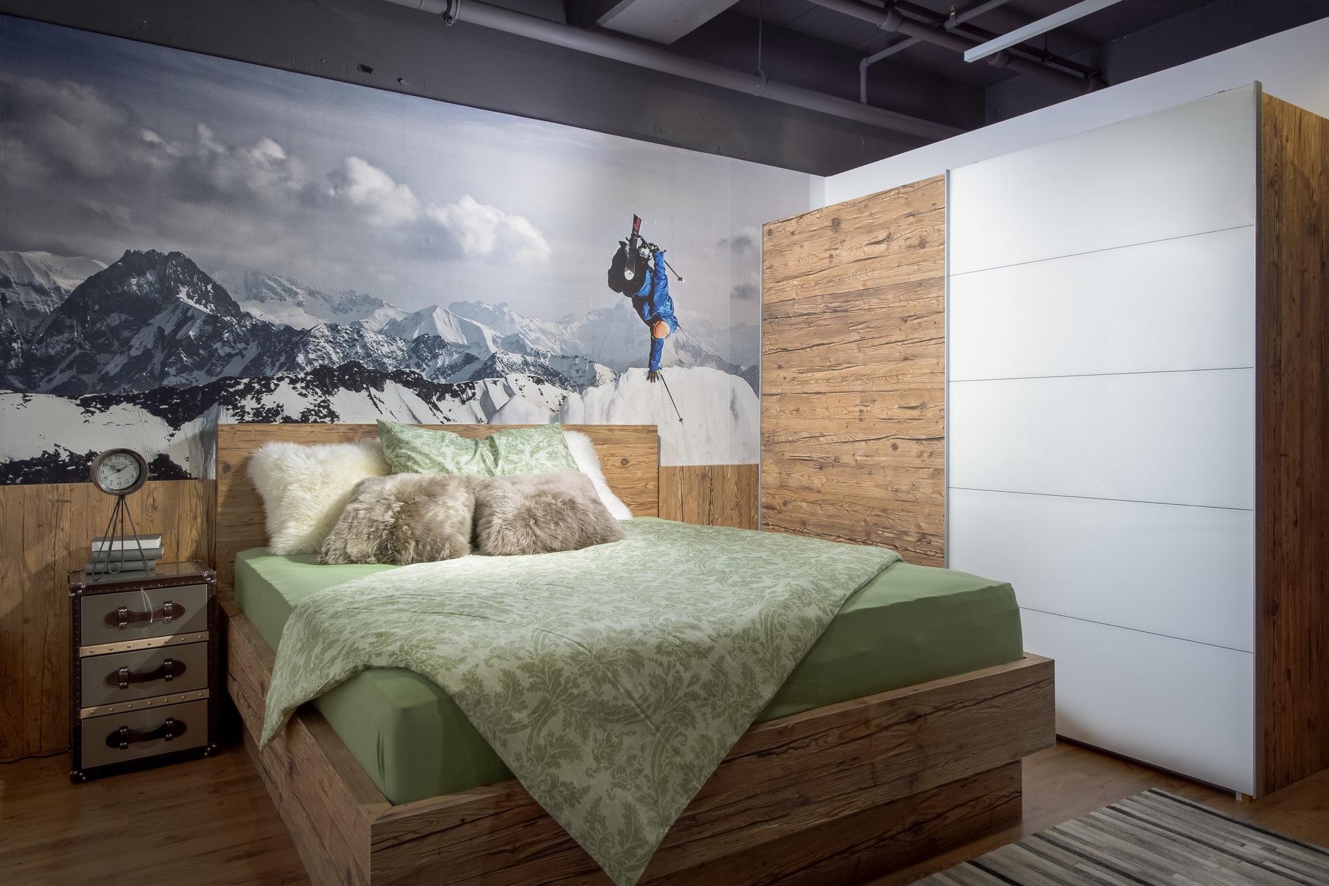 Betten Schlafzimmer Altholz Schlafzimmer