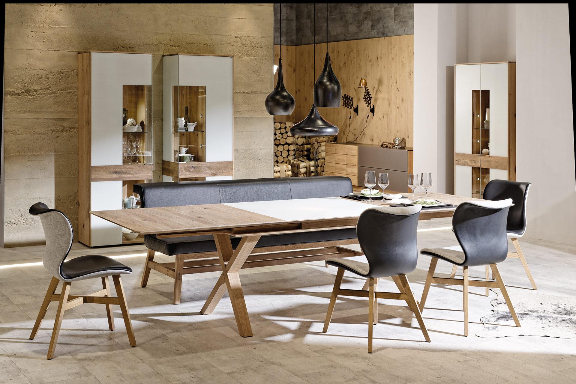 Esszimmer modern holz  Trop Möbelabholmarkt GmbH   Markenshops   Voglauer   VOGLAUER V ...