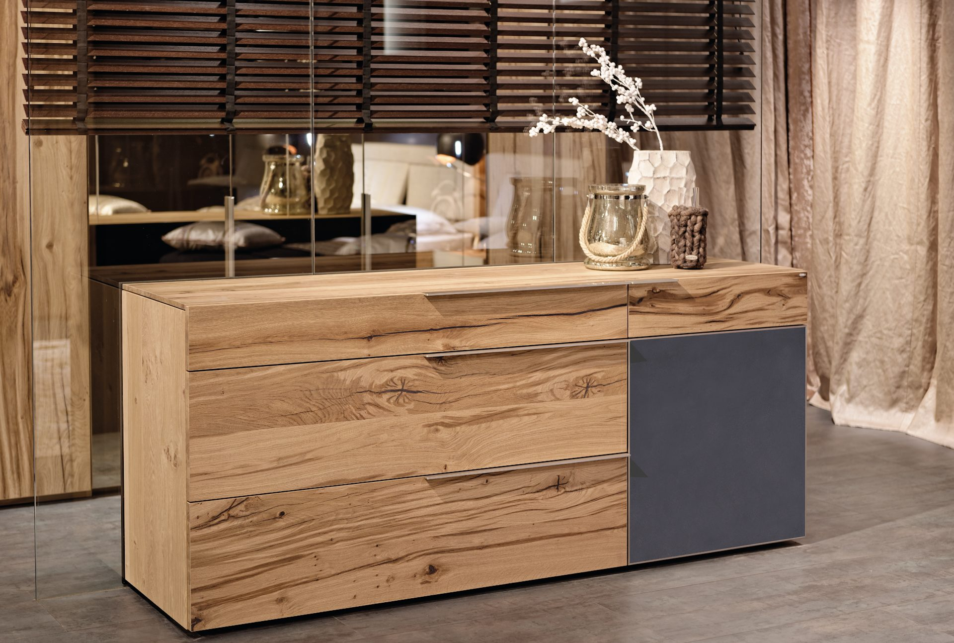 Sideboard Holz Massiv Awesome Sideboard Holz Hell Trop Gmbh