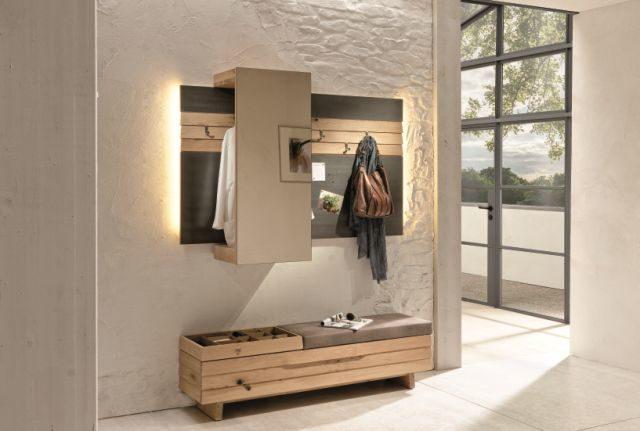 Garderobe Massiv